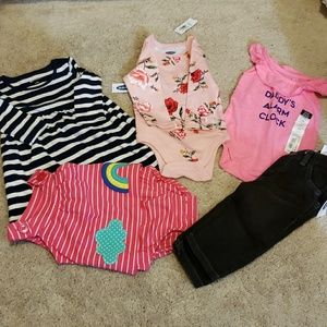 Other - NWT baby girls 3-6 mo bundle